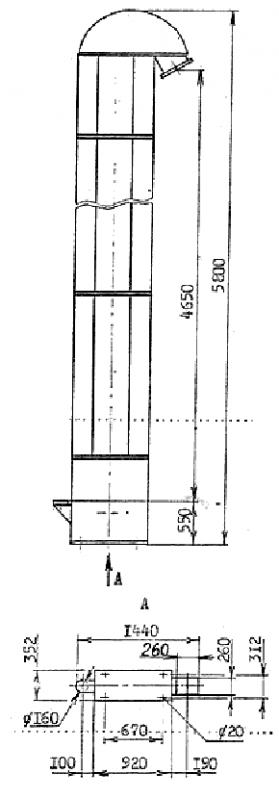 Купить Элеватор ковшевой для сыпучих материалов 5м3/ч