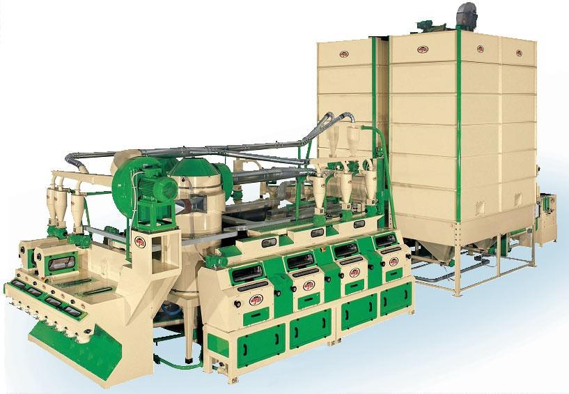 Купить Минимукомольная установка ММУ -100 для агропромышленного комплекса