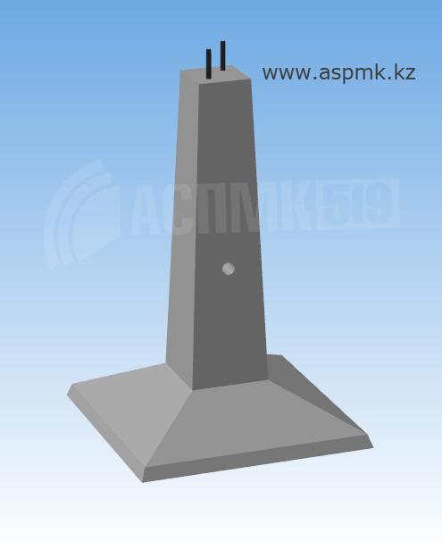 Купить Ф1-2 - фундаменты под унифицированные металлические промежуточные и анкерно-угловые опоры ВЛ 35-500 кВ Серия 3.407-115, выпуск 2