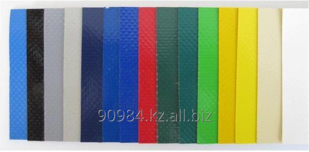 Купить Ткань тентовая армированная с двухсторонним ПВХ покрытием. Плотность 620-900 г/м2.