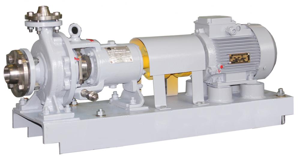 Купить Насос центробежный химический Х50-32-125К55 с двигателем общепром. 4 кВт/3000 об. мин.