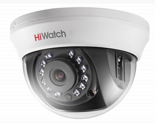 Купить Внутренняя купольная HD-TVI камера DS-T101 HiWatch