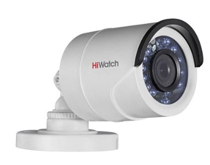 Купить Уличная цилиндрическая HD-TVI камера DS-T100 HiWatch