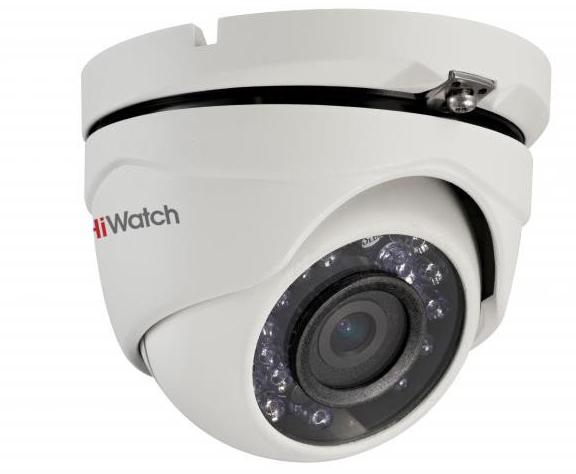 Купить Уличная купольная HD-TVI камера DS-T103 HiWatch
