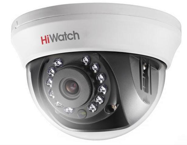Купить Внутренняя купольная HD-TVI камера DS-T201 HiWatch