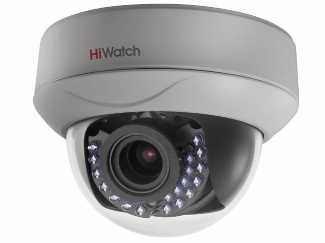 Купить Внутренняя купольная варифокальная HD-TVI камера DS-T227 HiWatch