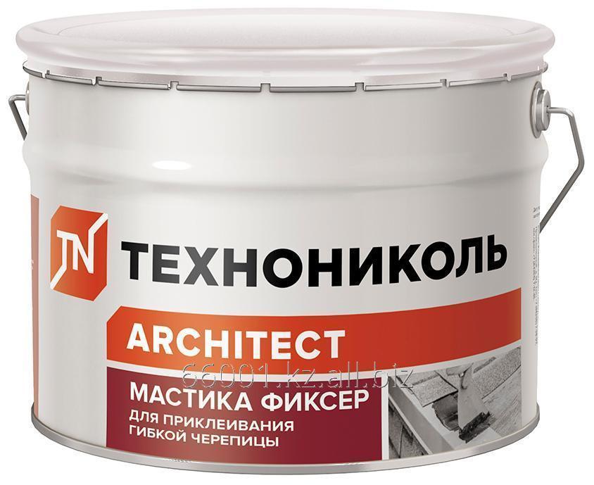 Buy Mastic for a flexible tile of TECHNONIKOL No. 23 (Fikser), a bucket of 12 kg