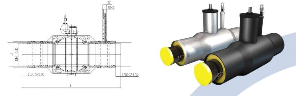 Buy Ball valve with air vent