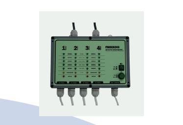 Детектор повреждений стационарный четырехканальный с сухим контактом ДПС-4АМ/СК
