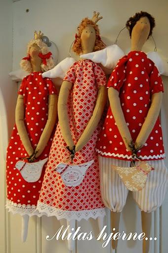 Купить Текстильная кукла - Тильда