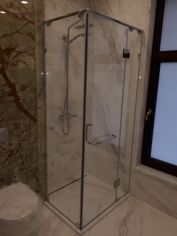 Glass for a shower cabin of Crystal Glass buy in Almaty