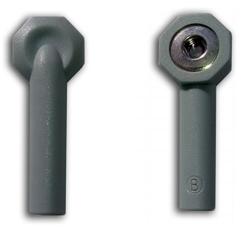 Купить ЭКГ Переходник кабеля штекер-кнопка, под штекер 3мм (комплект 6 шт.)