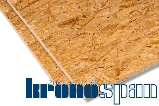 Buy Plate of OSB 3 (OSP-3) of Kronospan the size - 1220x2440 9/12/15 of mm