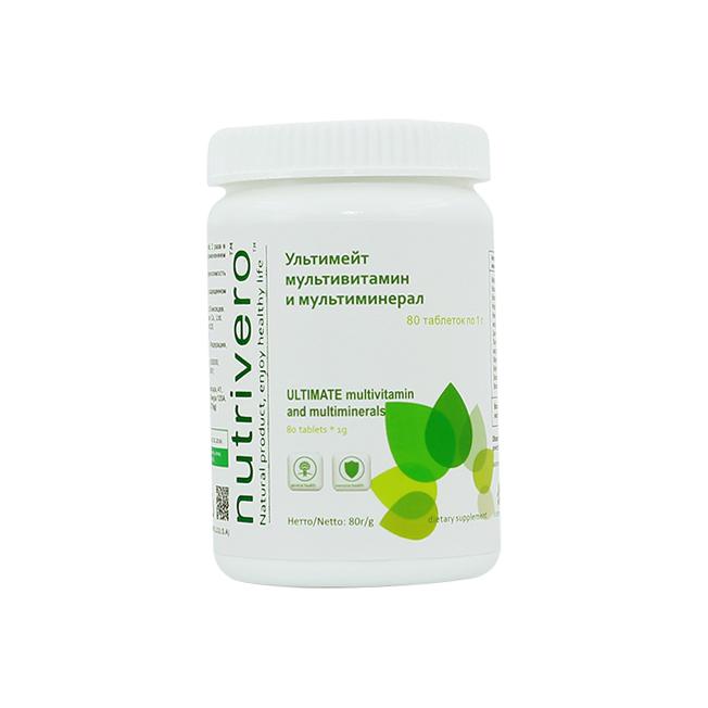 Ультимейт мультивитамин и мультиминерал