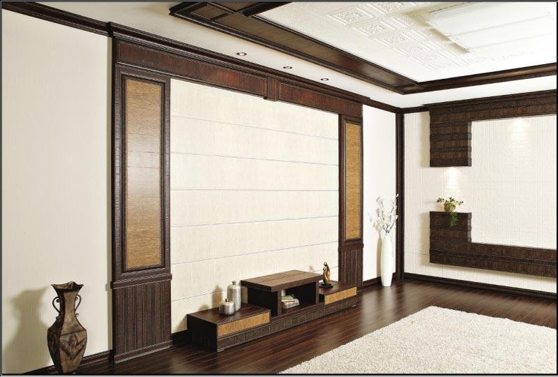 отделка помещений корейской багетом фото
