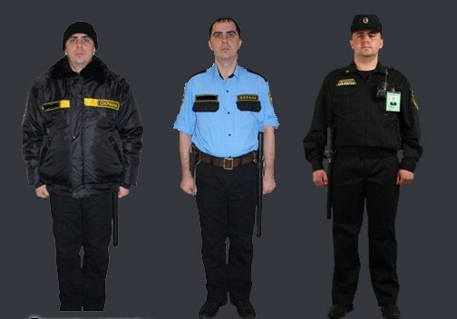 Купить Униформа для охраны