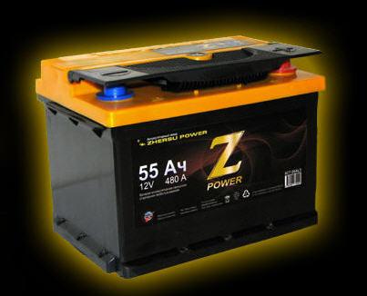 Батареи аккумуляторные свинцово-кальциевые стартерные 6CT - 72 AL3