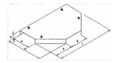 Крышка тройниковой секции