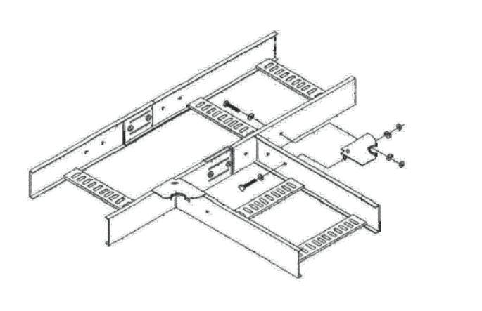 Соединение угловых секций НЛ