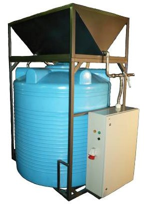 Buy INSTALLATION FOR RECEIVING SALT SOLUTIONS with a productivity of 1,5-2000 liters an hour.