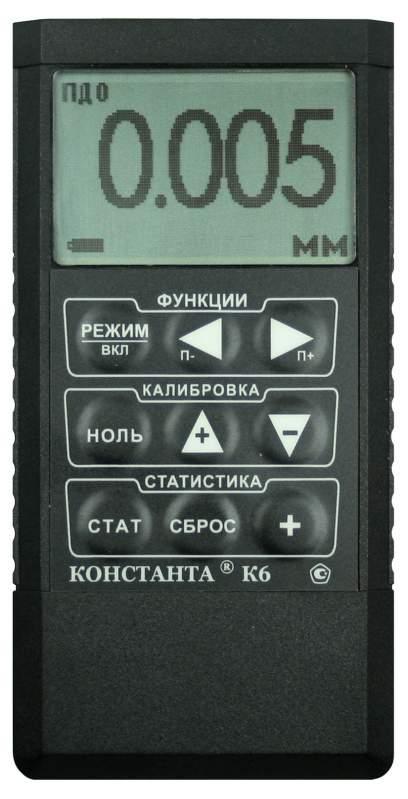 Толщиномер защитных покрытий Константа К6