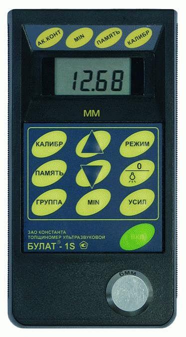 Ультразвуковой толщиномер УТ907 с функциями А-скана и В-скана