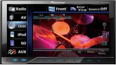 DVD AVH-P4250DVD player buy in Almaty