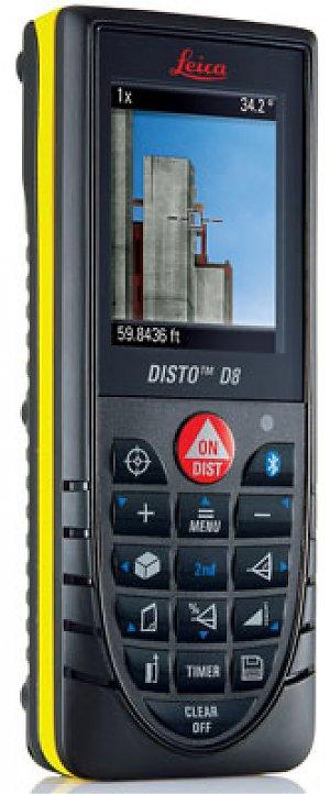 Лазерный дальномер DISTO D8