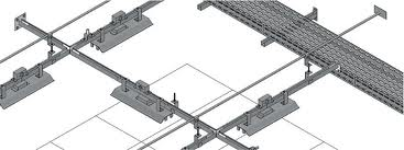 Buy Trenches for electric cables, Elements of cable racks