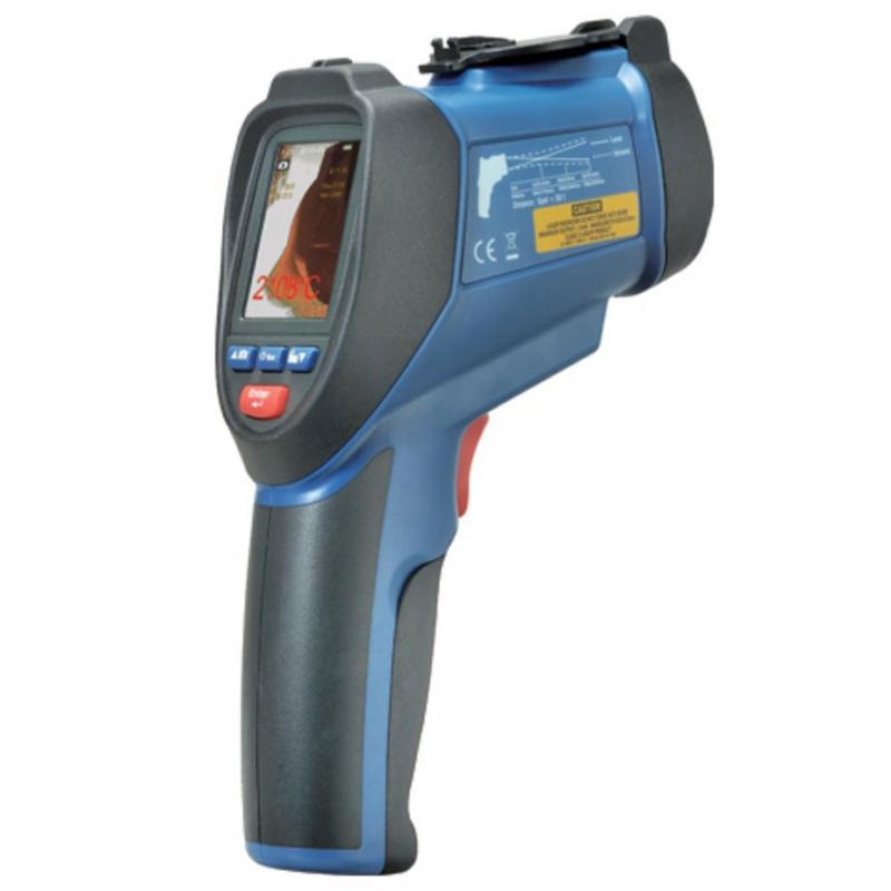 Пирометр со встроенной видеокамерой CEM DT-9862