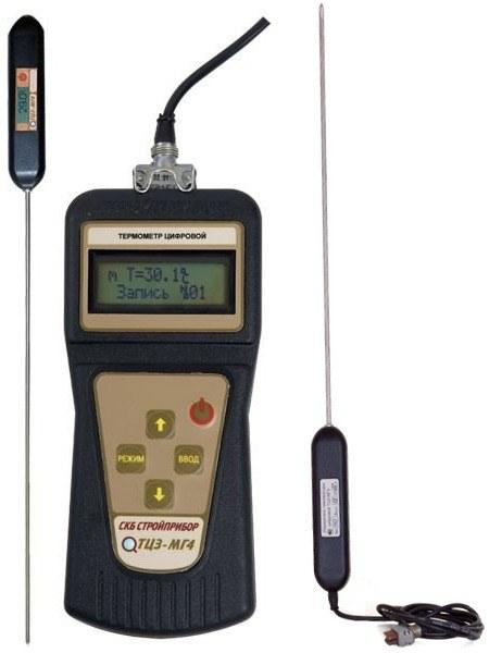 Digital thermometers probe TCZ-Mg4