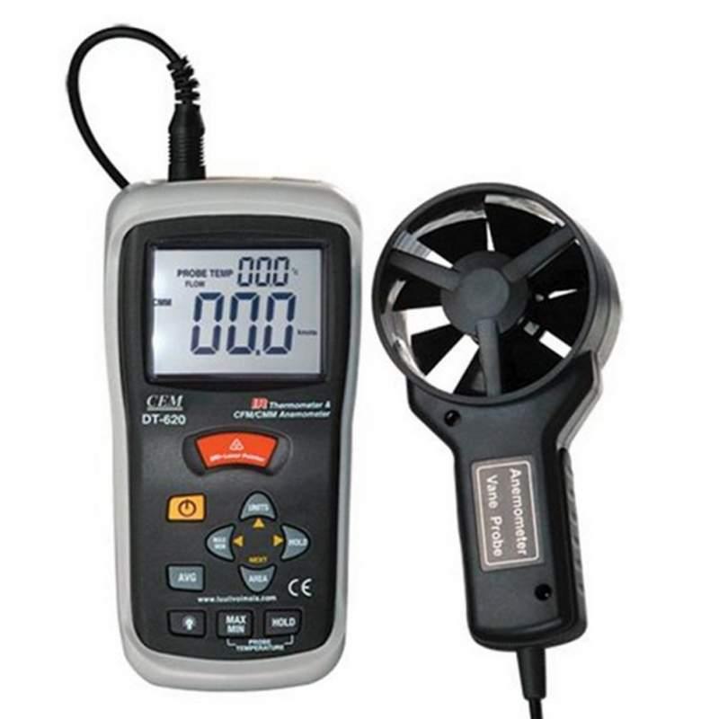 Термоанемометр с функцией пирометра CEM DT-620