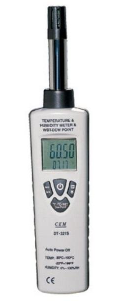 Цифровой гигро-термометр CEM DT-321S