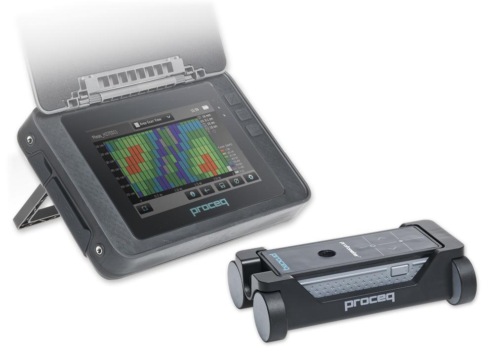 Измеритель толщины защитного слоя бетона Profometer PM-600