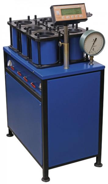 Установка для испытания образцов бетона на водонепроницаемость УВБ-МГ4