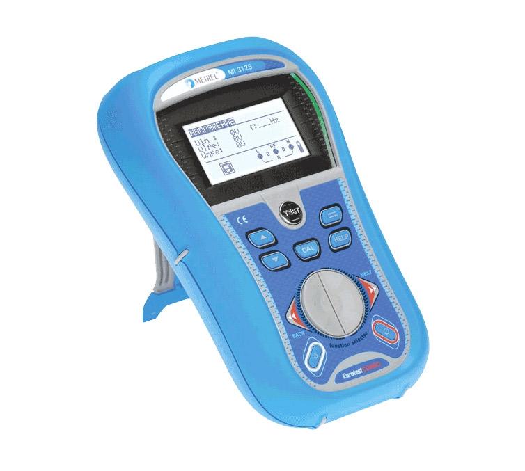 Измеритель параметров электроустановок Metrel MI 3125 EurotestCOMBO