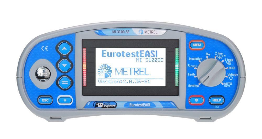 Buy Многофункциональный измеритель параметров электроустановок 3102H ME EurotestXE the Metrel 2.5 кВ