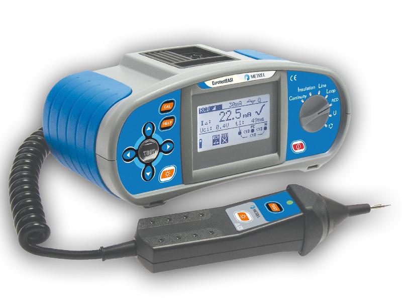 Купить Многофункциональный измеритель параметров электроустановок Metrel MI 3100 EurotestEASI