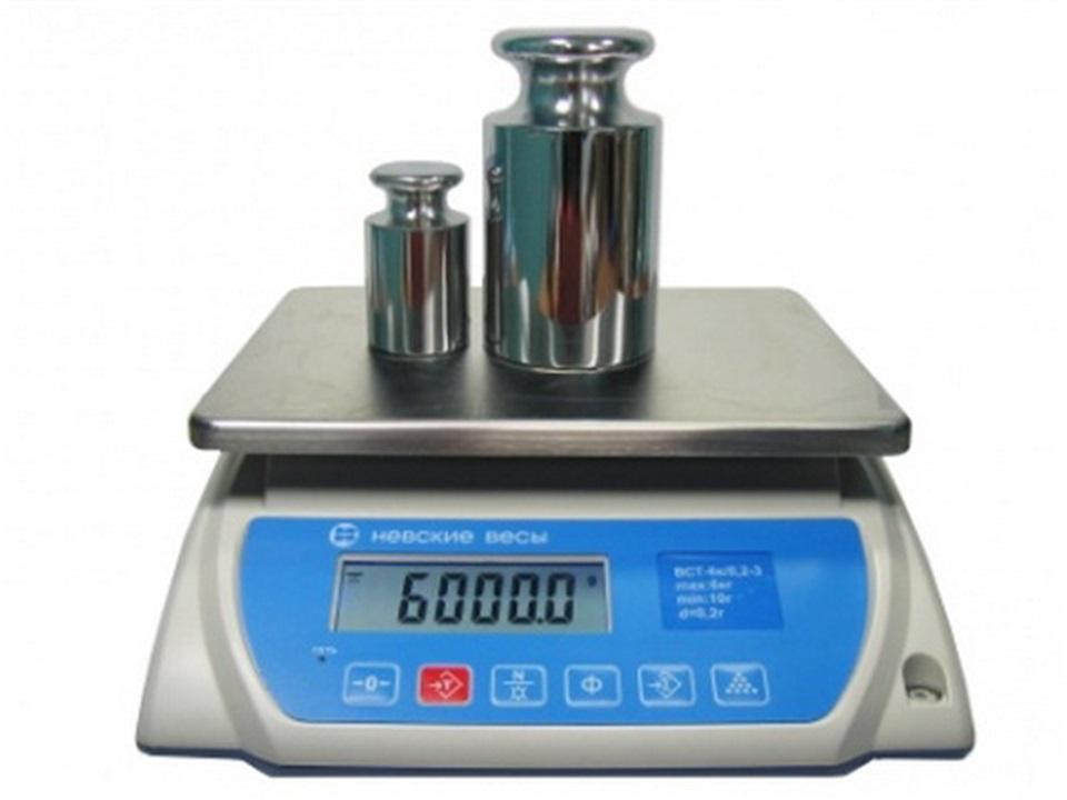 Весы серии ВСН-3 с RS-232