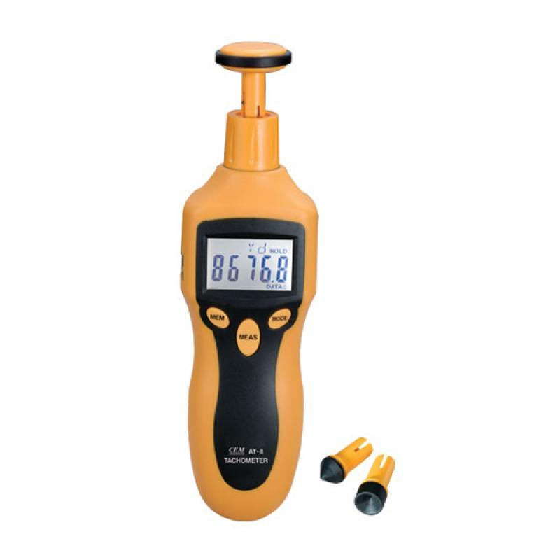 Цифровой лазерный фототахометр АТ-8