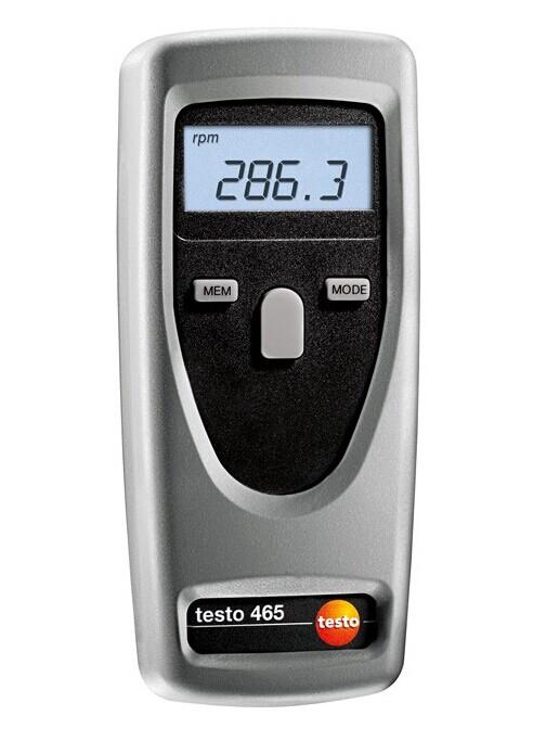 Тахометр Testo 465 - для бесконтактного измерения скорости вращения