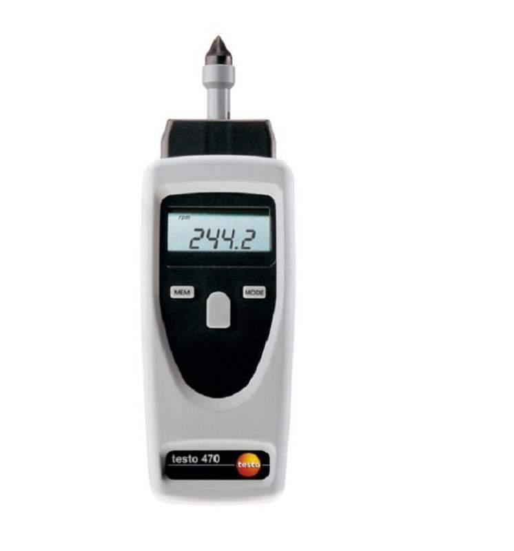 Тахометр testo 470 - для измерения скорости вращения