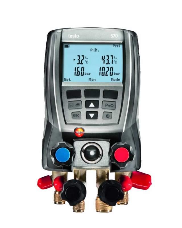 Купить Комплект testo 570-2 - цифровой манометрический коллектор