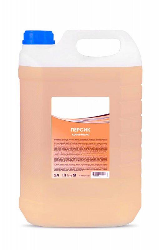 Купить Крем-мыло Персик, разливное, 5л канистра