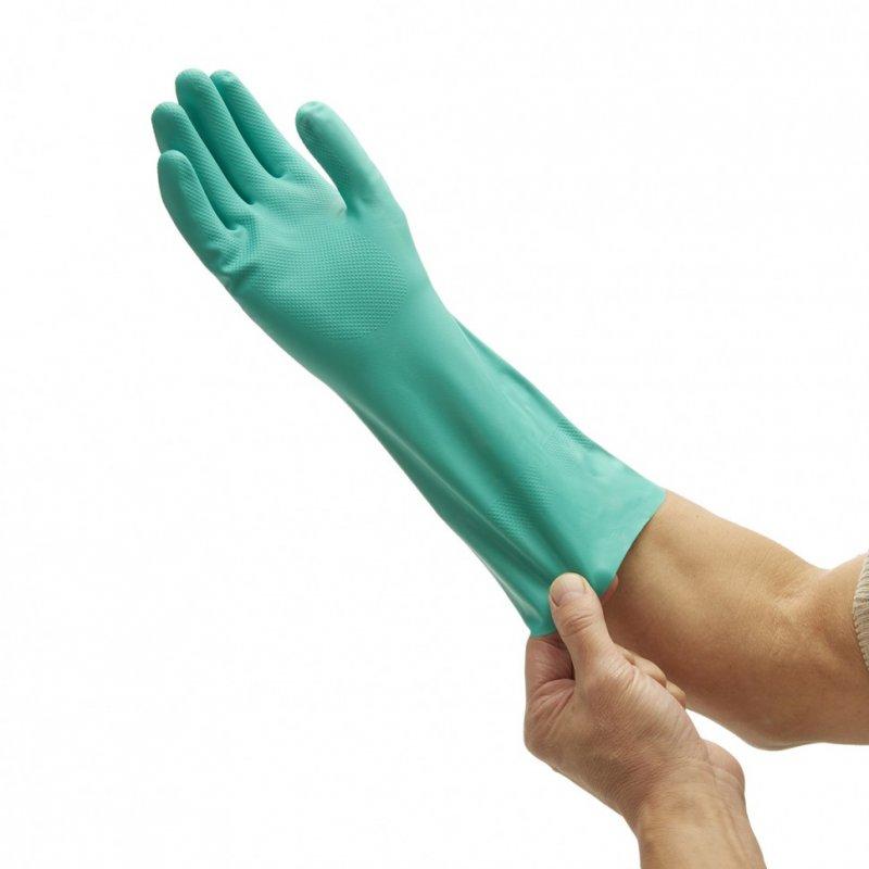 Перчатки химически стойкие JACKSON SAFETY G80, нитриловые, 33см