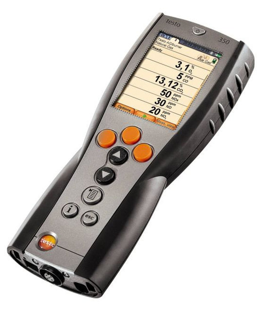 Buy The control module testo 350 flue gas Analyzer for industry