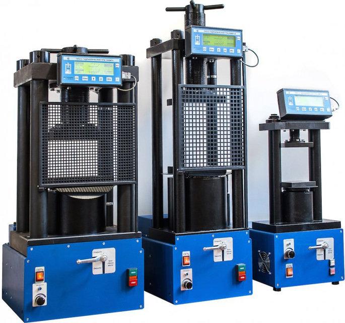 Прессы испытательные гидравлические малогабаритные на 50, 100, 500, 1000, 1500, 2000кн пгм-50мг4, пгм-100мг4