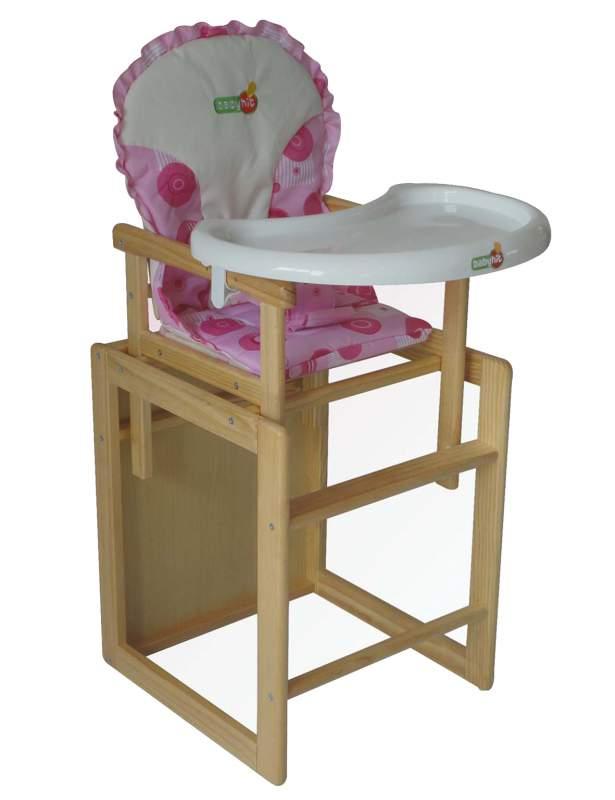 деревянный стульчик для кормления Hc 01 купить в алматы