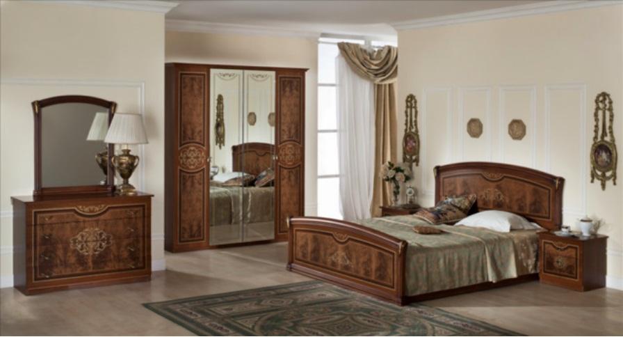 Спальный гарнитур Верона коллекция Италия