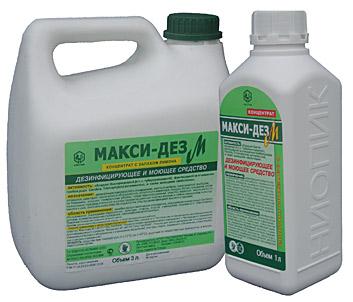 Макси-Дез М 1л (дезинфицирующее средство на основе ЧАС)